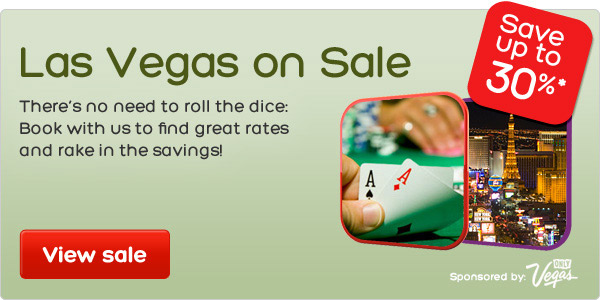 Save Up to 30% OFF on Las Vegas @ Hotels.com