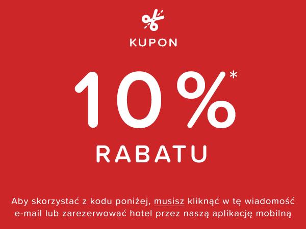 KUPON NA 10% RABATU*